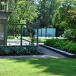 Zwembad in tuin te Bosch en Duin