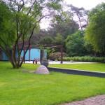 Lijnen in tuin te Bosch en Duin.